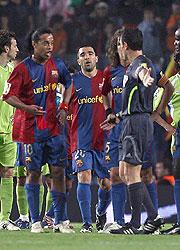 Expulsión de Ronaldinho